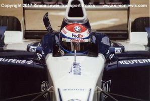 Williams FW23 BMW Marc Gene Silverstone testing 2001. Photo C